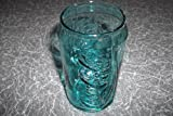 McDonalds Collectable Glass COCA COLA GLASS CAN GLASS. ½ PINT COLLECTORS GLASS. TURQUOISE