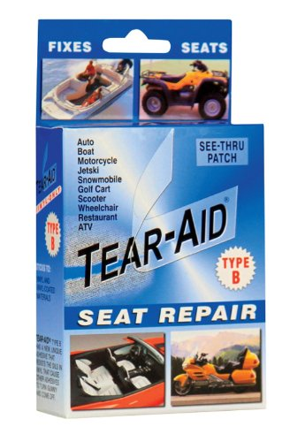 Tear Aid Repair Type B Vinyl Seat Repair Kit Clear