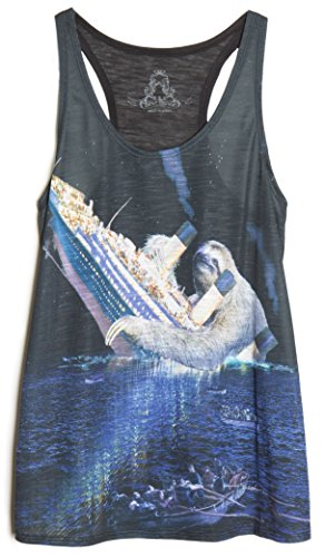 ragstock-womens-graphic-tank-top-small-sloth-titanic