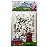 Peppa Pig Puzzle para Colorear Libros Alligator