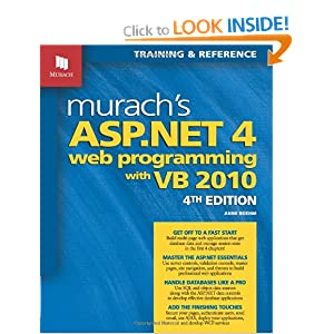 Murach's ASP.NET 4 Web Programming with VB 2010