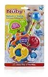 Nuby Splash n Catch Bath Time Fishing Set, Includes Four Link Toys