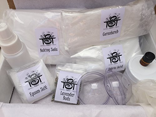 All Natural Bath Bomb Making Kit Oil Blends Included