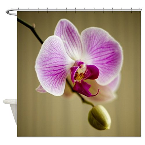 CafePress - Orchid Shower Curtain - Decorative Fabric Shower Curtain (Cafe Press Orchid Shower Curtain compare prices)