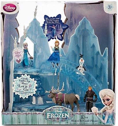 Disney Frozen Playset Elsa Musical Ice Castle