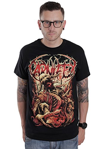 Carni FEX-eterosessuali Dox-T-shirt nero XL