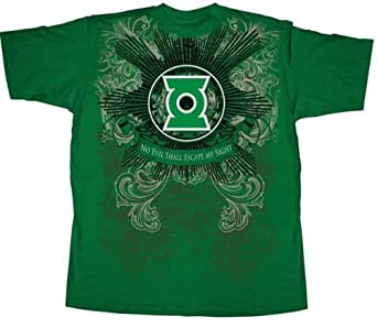 Green Lantern T-Shirt guide