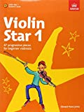 img - for Violin Star 1 Book & CD Students Book (Violin Star (Abrsm)) book / textbook / text book