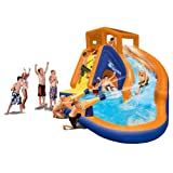 Inflatable drinking water Slides:Banzai Sidewinder great time Bounce House