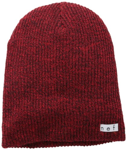neff Men's Daily Heather, Black/Red, One Size Picture