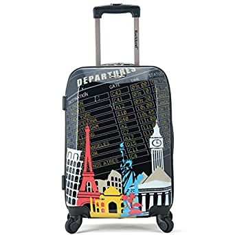 Rockland Luggage 20 Inch Polycarbonate Carry On,