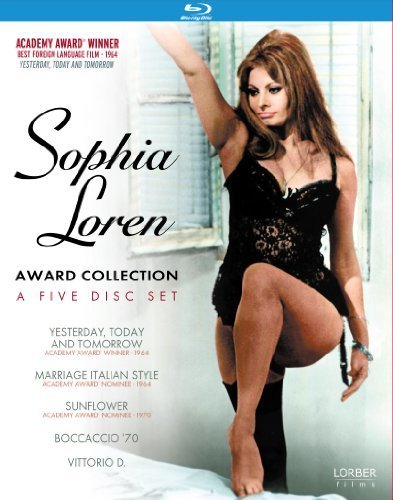 Sophia Loren: Award Collection [Blu-ray] (Yesterday, Today & Tomorrow / Marriage Italian Style / Sunflower / Vittorio D / Boccaccio '70) by Lorber Films