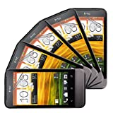 Skque® All-New Clear Anti Scratch Protective Screen Protector Films(5 Packs) for HTC ONE V-4GB 3.7