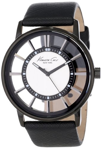 Kenneth Cole New York Men's KC1752 Transparency Classic See-Thru Dial Round Case Watch