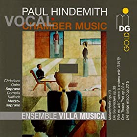 Hindemith: Vocal Chamber Music