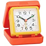Impecca Traveling Folding Alarm Clock (Orange / Yellow)