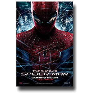 The Amazing Spiderman Poster - 2012 Movie Teaser Flyer 11 X 17 - Andrew Garfield Rhys Ifans - Chest CS 3D Imax