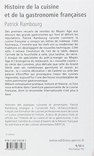 Histoire de la cuisine et de la gastronomie francaises perrin tempus 375 page - Histoire de la cuisine ...