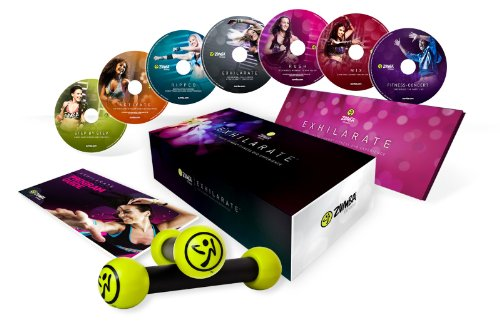 Ensemble de Zumba : Zumba fitness exhilarate