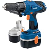 Draper 76214 24-Volt Cordless Combination Hammer Drill Kit with 2 Batteriesby Draper