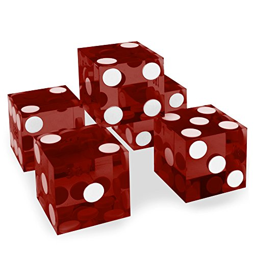 set-of-5-grade-aaa-19mm-casino-dice-with-razor-edges-and-matching-serial-numbers-by-brybelly-red