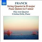 フランク:弦楽四重奏曲・ピアノ五重奏曲