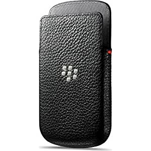 BlackBerry ACC-54681-201 Etui en cuir pour BlackBerry Q5 Noir