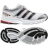 Adidas Response Cushion K running white/light scarlet/phantom, Größe Adidas UK:6.5