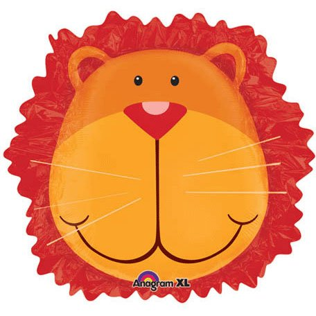"Anagram International Wild Kingdom Lion Head Pack, 24"" - 1"