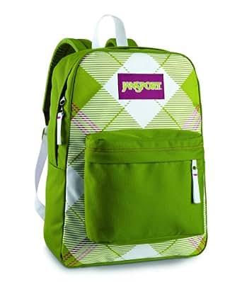JanSport Classic Super G Series - Argyle Backpack, Citronella Green