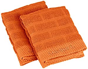 Cuisinart Sculpted Subway Tile Dish Towel, 2-Pack