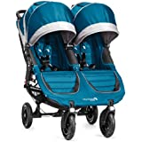 Baby Jogger 2014 City Mini GT Double Stroller, Teal/Gray