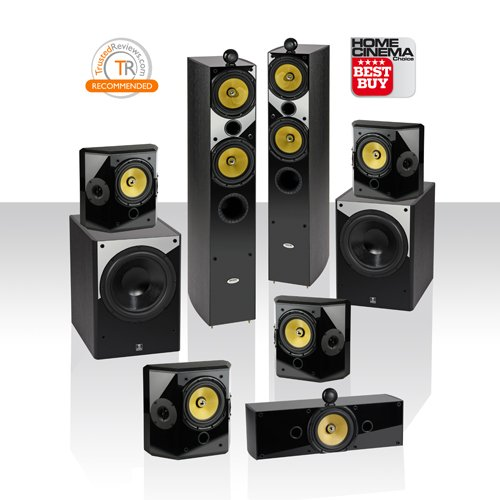 Crystal Acoustics T2-7.2-Ul Home Theater System With Thx® Ultra2 Fronts & Dual Thx Ultra2 Subwoofers