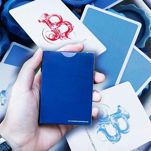 Mazzo di carte Blue Steel - Mazzi di carte da gioco - Giochi di Prestigio e magia