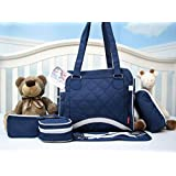 SoHo New Yorker Pack & Go 6 in 1 Deluxe Tote Royal Navy *Limited time offer !*