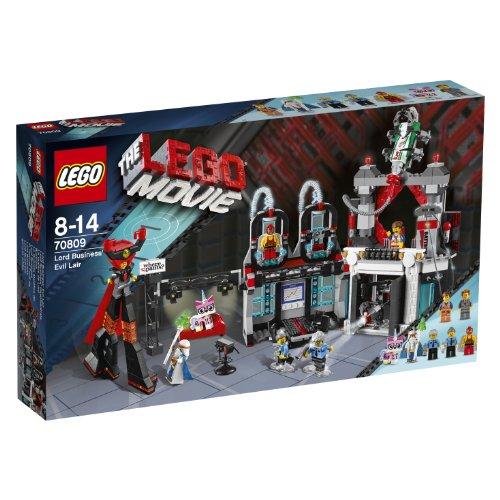 レゴ ムービー おしごと大王のアジト 70809