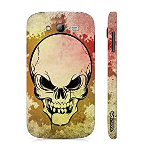 Samsung Galaxy J5 SKULLY SCARE designer mobile hard shell case by Enthopia