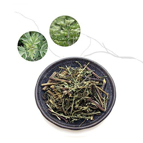 Oriental Wormwood (Artemisia Capillaris) / Mugwort Loose Leaf 80G / 100% Natural / Korea Imports
