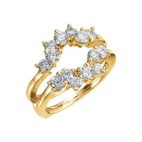 Yellow-gold Diamond Ring Guard (Diamond Guard Ring compare prices)