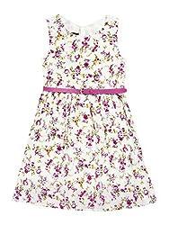 SuperYoung Girls' Fuschia Dress