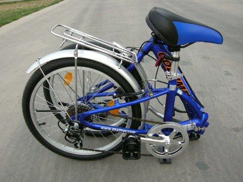 "Columba 20"" Alloy Folding Bike w. Shimano 7 Speed Blue (R20A_BLU)"