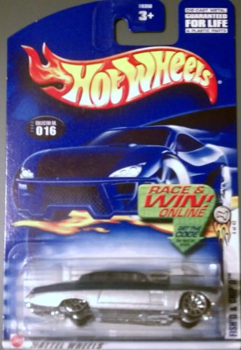 2003 First Editions #4 Fish'd and Chip'd 10 Spoke Wheels Clear HW Logo #2003-16 Collectible Collector Car Mattel Hot Wheels 1:64 Scale - 1