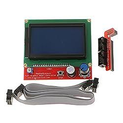 LCD Screen 2004 Smart Display Controller Kit for 3D Printer RAMPS 1.4 DIY