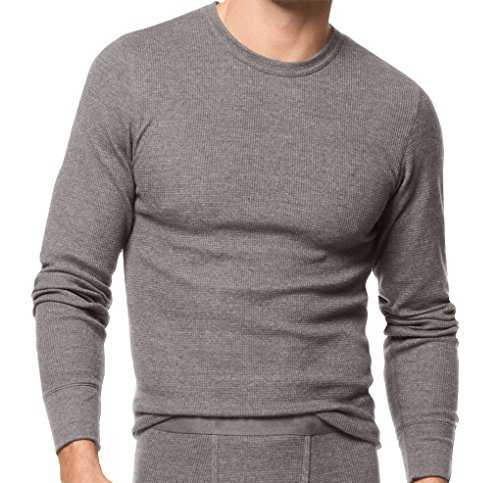 Peach Couture Men 39 S Waffle Knit Comfort 100 Cotton
