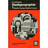 img - for Stadtgeographie, Bd.1, Begriffe, Konzepte, Modelle, Prozesse book / textbook / text book