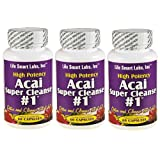 ACAI SUPER CLEANSE #1 TM HIGHLY POTENT 180 capsules ANTIOXIDANT, Detox, Colon Cleanse, Weight Loss ~ ACAI SUPER CLEANSE #1