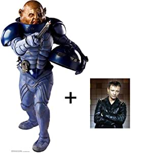 "*FAN PACK* - GENERAL STAAL (SONTARAN) - LIFESIZE CARDBOARD CUTOUT / STANDEE / STANDUP - BBC DOCTOR WHO / DR WHO / DR. WHO AND TORCHWOOD - INCLUDES 8x10"" (25x20cm) STAR PHOTO - FAN PACK #125"