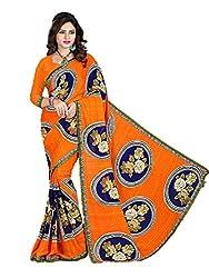 Gopika Creation Women's Georgette Saree_gop81_Multicolored_Freesize