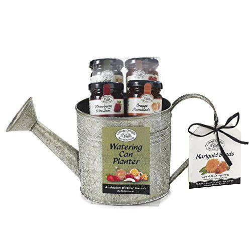 Cottage Delight Chutney & Jam Watering Can Planter Christmas Gift Hamper