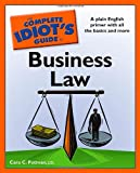 img - for The Complete Idiot's Guide to Business Law book / textbook / text book